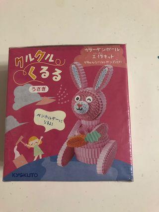 兔仔彩色瓦楞紙