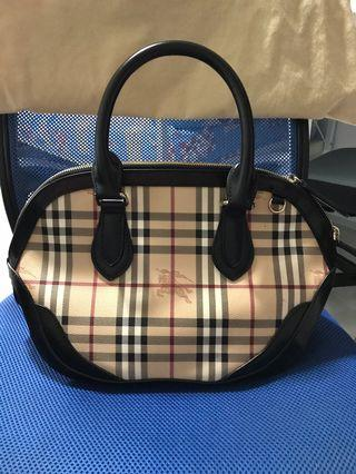 Burberry Orchard Haymarket Bowling Satchel