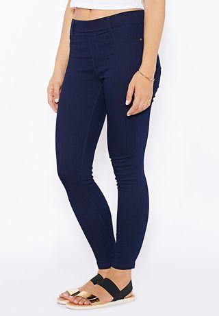 Dorothy Perkins Eden Jeggings Dark Blue UK18