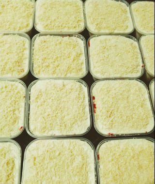 🚚 Red Velvet Cake Cheese Leleh