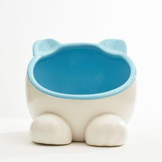 Pet Food or Water Bowl / Chinchilla Hideout (Pink/Blue) / Hay Holder
