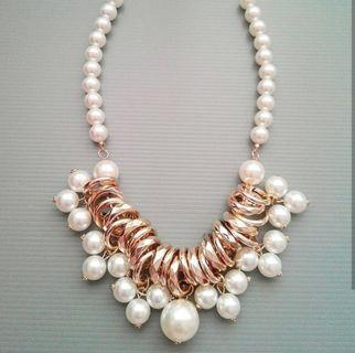 Pearl Necklace Kalung Fashion Import PNN 5-0150
