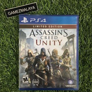 [NEW] PS4 ASSASSIN CREED UNITY R1 - ACCEPT TRADE-IN   NEW PS4 GAMES (GAMEZMALAYA)