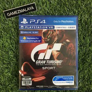 [NEW] PS4 GRAN TURISMO SPORT R3 - ACCEPT TRADE-IN   NEW PS4 GAMES (GAMEZMALAYA)