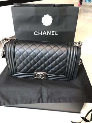 94e5e75fafb4 chanel caviar medium bag | Cat Accessories | Carousell Singapore