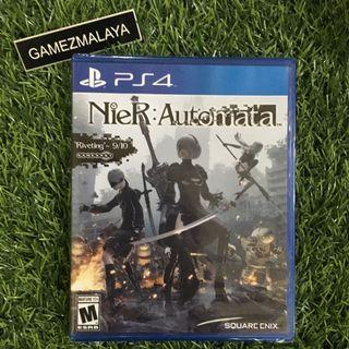 [NEW] PS4 NIER AUTOMATA R1 - ACCEPT TRADE-IN   NEW PS4 GAMES (GAMEZMALAYA)