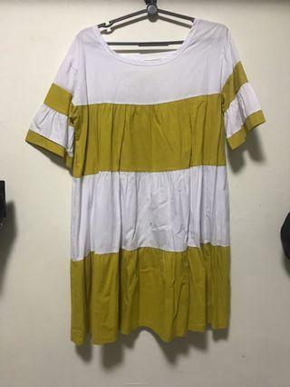🚚 Yellow dress