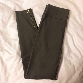 KOOKAI HIGH WAISTED GREY PANTS SIZE 34 6