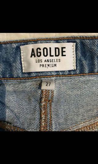 AGOLDE Denim Skirt from Aritzia