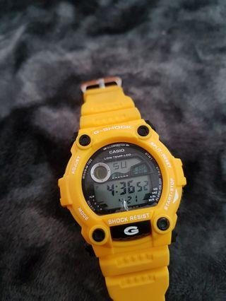 Yellow Kids Watch Toy