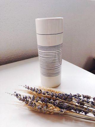 Scandinavian ceramic vase