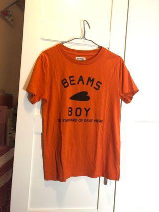 Beams boy tee