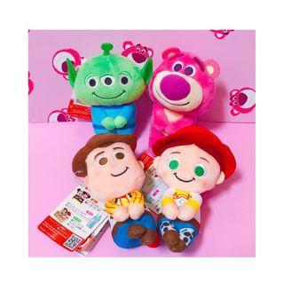 🚚 現貨Chokkorisan ✨正版日本迪士尼💕玩具總動員坐姿娃娃