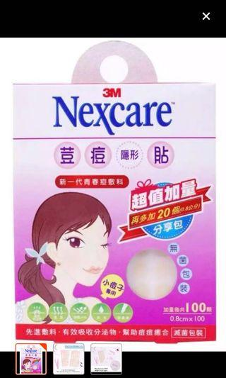 3M Nexcare Acne Pimple 100 Patch Tegaderm Hydrocolloid dressing