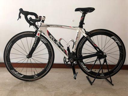 Full Carbon Road Bike Complete Set - Kuota Kharma