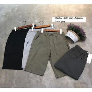 Zip shorts bermudas