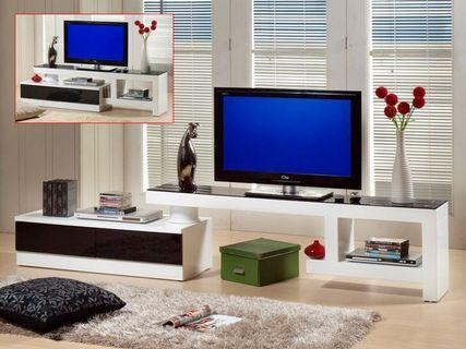 Black & White TV Cabinet