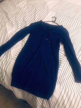 Blue casual/dinner dress