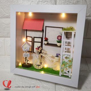 [PERSONALIZED GIFTS] 3D Paper Quilling Frame - Housewarming Home Decor