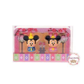 🚚 (In Stock) Disney Mickey & Minnie Hinamatsuri Figure