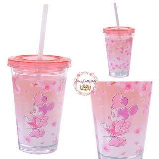 🚚 (In stock) Disney Minnie Cherry Blossom Water Bottle