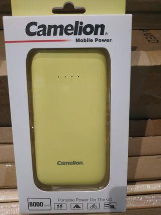 Power bank yellow 8000 mah
