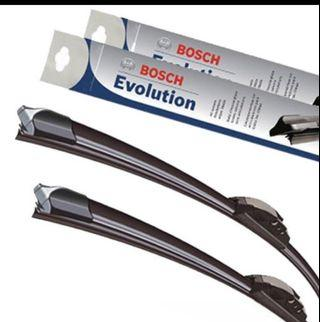 Bosch Hybrid wipers for cars van lorry