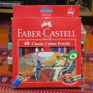 Faber Castell (48 colored pencils)