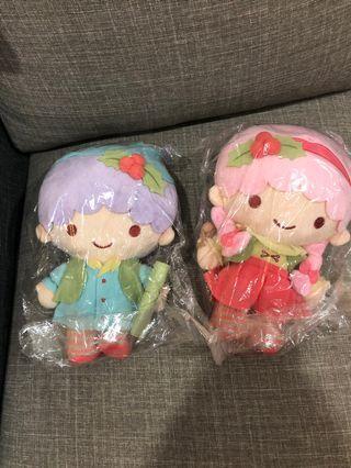 Boy & girl soft toys