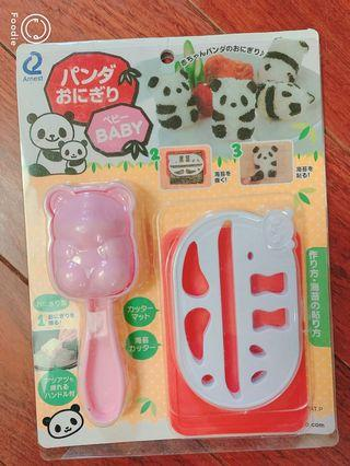 🚚 熊貓飯糰模具