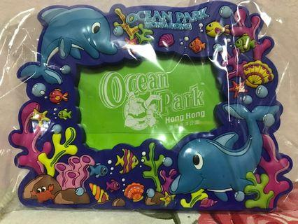 Ocean park Hong Kong photo frame