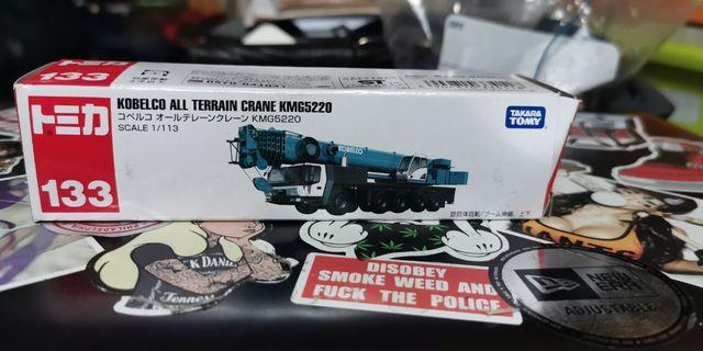 Tomica 133 KOBELCO ALL TERRAIN CRANE KMG5220 吊車 大吊