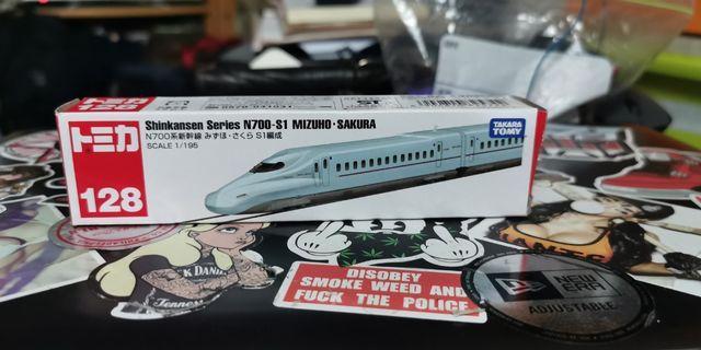 Tomica 128 N700系 新幹線 子彈火車 N700-S1 Mizuho. Sakura
