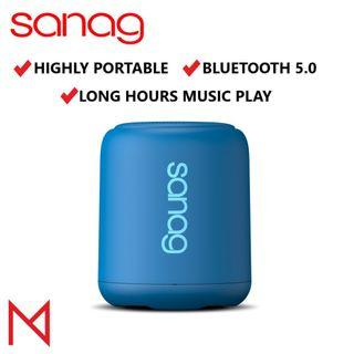 Sanag X6 Bluetooth 5.0 Water Resistant Wireless Speakers Portable Extra Bass