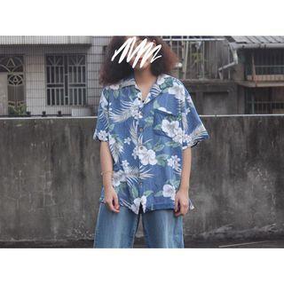 🚚 古著 • 夏威夷花襯衫