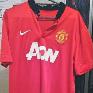 Manchester United 2013-2014 home kit XL