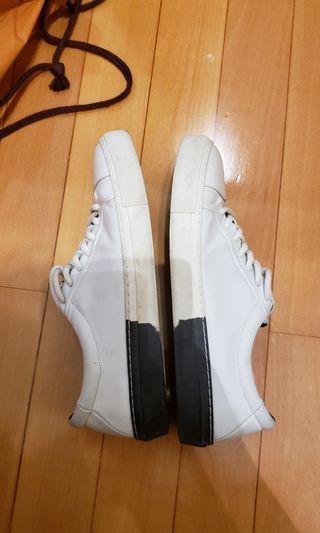 Royal republiq sneakers white black EU41 鞋 白