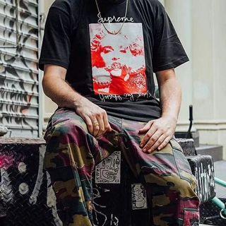 Supreme 18Fw Madonna Photo Tee