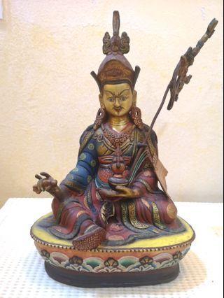 🚚 Tibetian Blessed Guru Rinpoche statue
