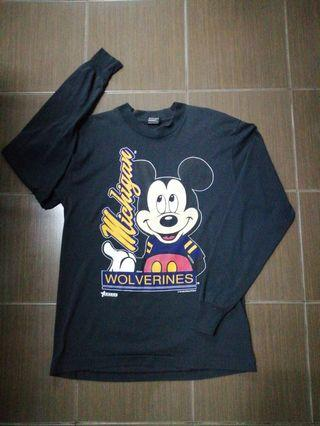 Vintage Mickey Mouse Long Sleeves Combo For Sale