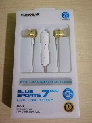 BNIB SonicGear BlueSports 7 Pro