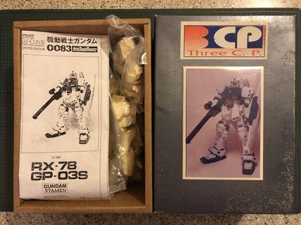 高達 GUNDAM RX-78 GP-03S 首辦模型