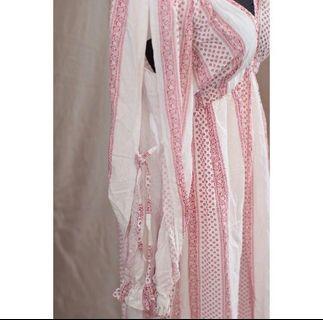 🚚 波希米亞風超有特色 設計感 渡假洋裝