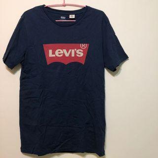 🚚 Levi's 經典logo上衣/八成新/男版S