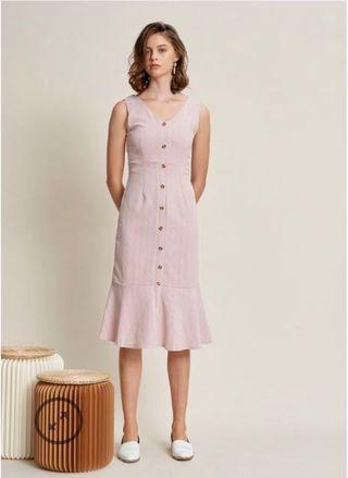 🚚 Tania button dress #MRTRaffles