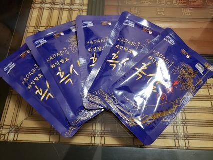 HADBI韓國黑參液5包