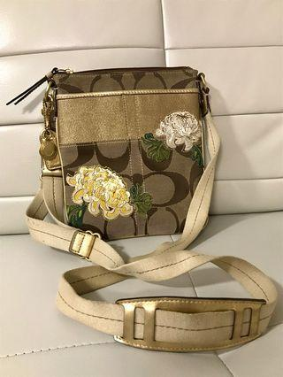 Brand New Authentic Coach Floral Crossbody Purse