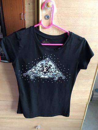 High Quality Stretchable LV Blinky Top