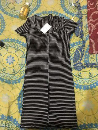 Dress stripes bershka