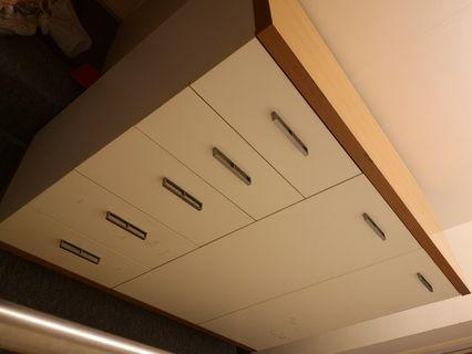 多用途收納櫃 (鞋櫃+五筒櫃)